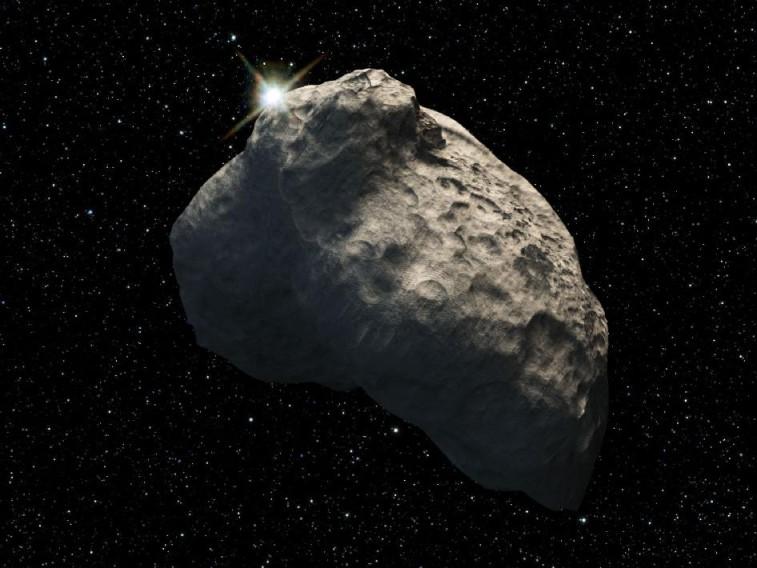 Artist's concept of Kuiper Belt object. Credit: NASA