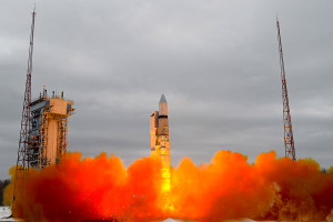 """Russian """"Rokot"""" launch. Credit: Ministry of Defence of the Russian Federation"""