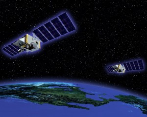 The U.S. Missile Defense Agency has said the follow-on program to its missile tracking Space Tracking and Surveillance System (above) is likely to be one part for a multi-mission Defense Department satellite.  Credit: MDA.