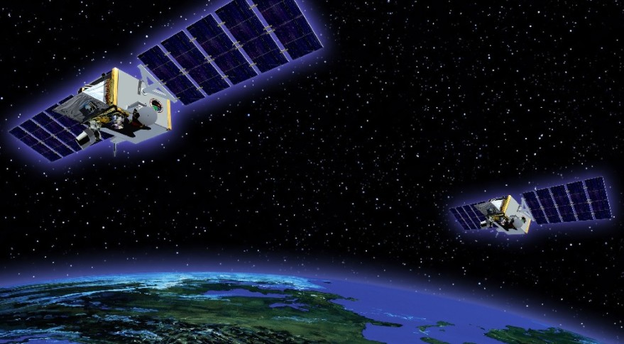 The U.S. Missile Defense Agency has said the follow-on program to its missile tracking Space Tracking and Surveillance System (above) is likely to be one part for a multi-mission Defense Department satellite.