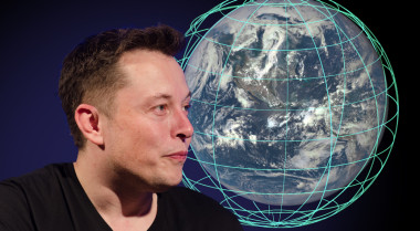 SpaceX founder Elon Musk  made a splash in January when he announced plans to circle the globe with a consolation of Internet-delivery satellites. Since then, additional details have been relatively few and far between. Credit: SpaceNews illustration by Lance Marburger