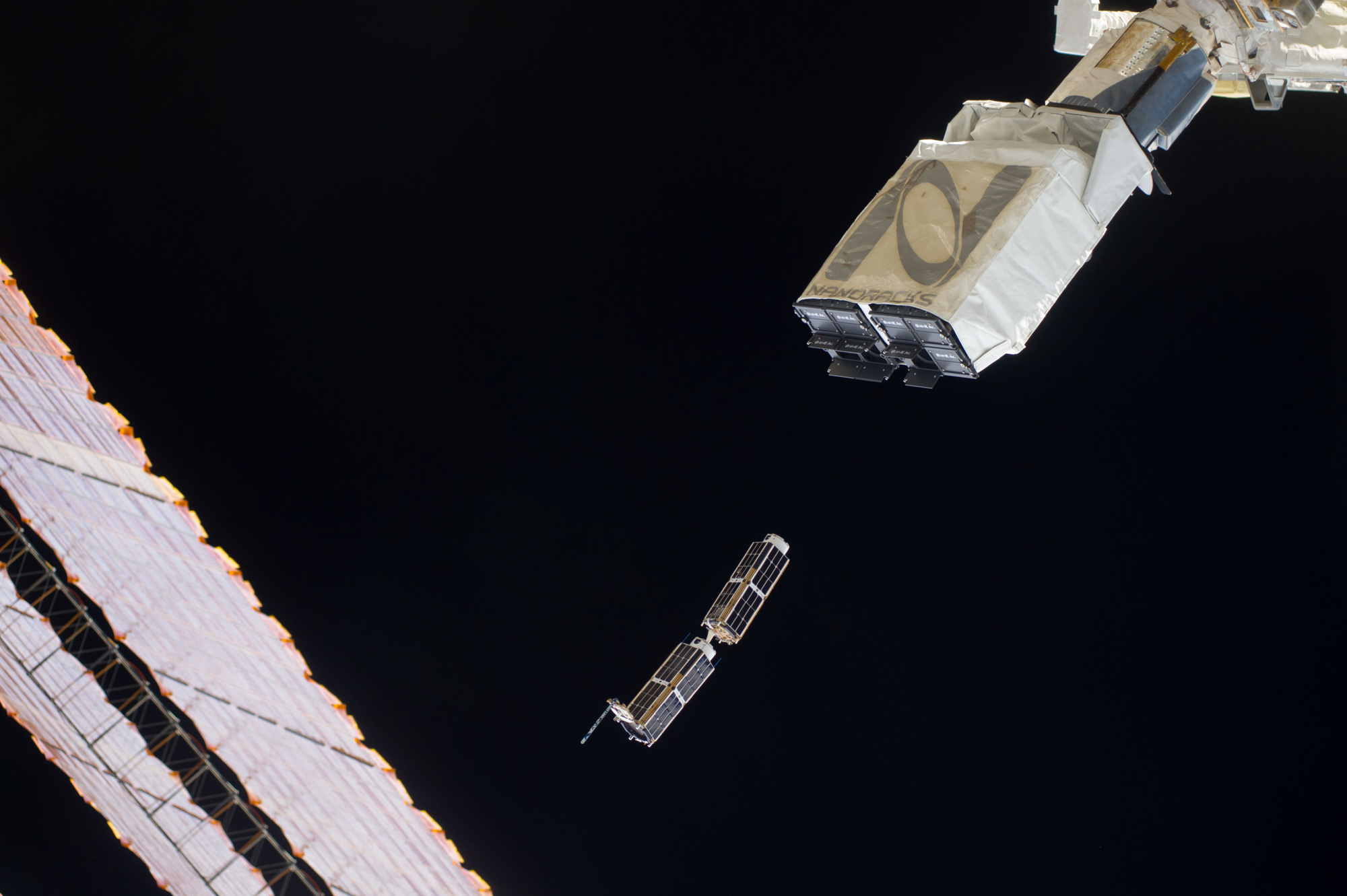 Asteroid-mining Company's 1st Spacecraft Deploys