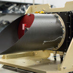 20150622 - ASU News - OTES - The OSIRIS-REx Thermal Emission Spectrometer (OTES) is the first space instrument built entirely on ASU's Tempe campus, on Monday, June 22, 2015. It will be shipped to Denver later this week, to be mated to the OSIRIS-REx spacecraft, then it will be used in a September 2016 on a mission to the primitive asteroid Bennu, to map the asteroid's thermal and spectral mineralogy. Photo by Charlie Leight/ASU News