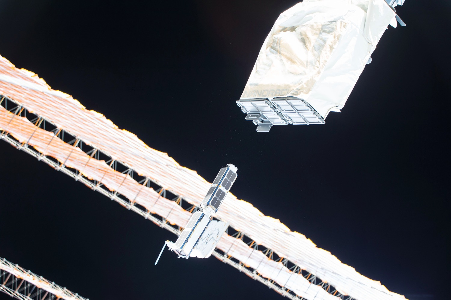Planet Labs ISS deployment