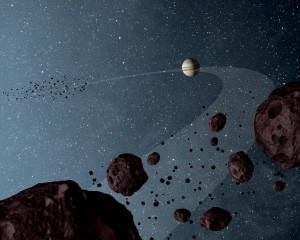By sheer numbers, small bodies dominate our solar system — and NASA's latest Discovery competition. Credit: NASA artist's concept