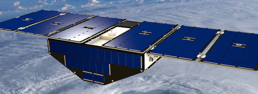 Cyclone Global Navigation Satellite System. Credit: NASA