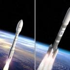 Ariane 6 and Vega C artist's concepts. Credit: ESA