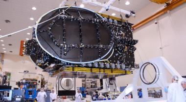 AsiaSat 8 undergoing construction