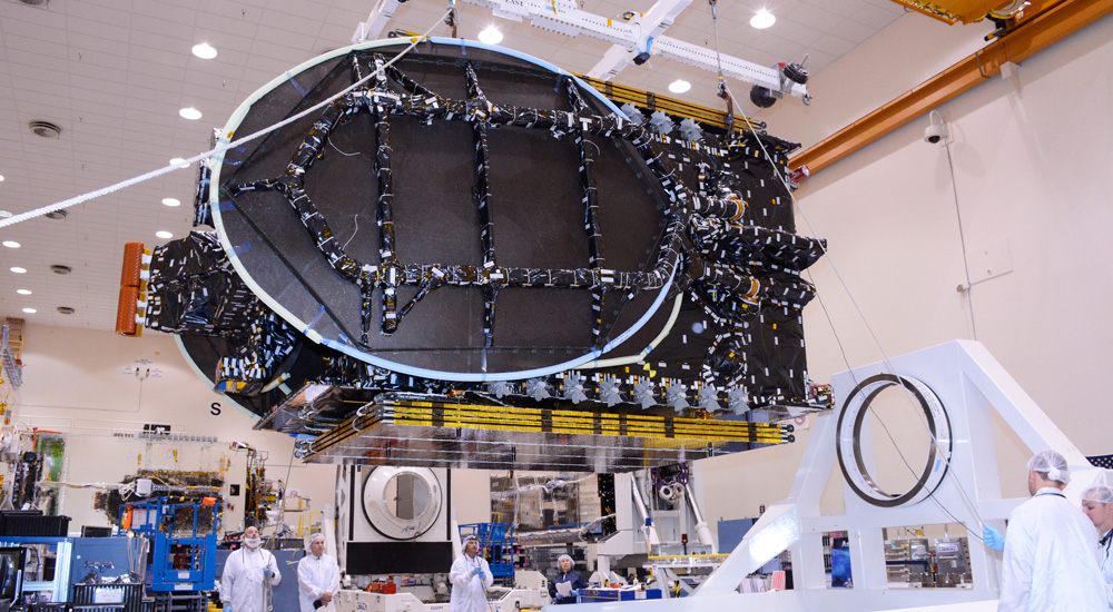 AsiaSat 8 undergoing construction