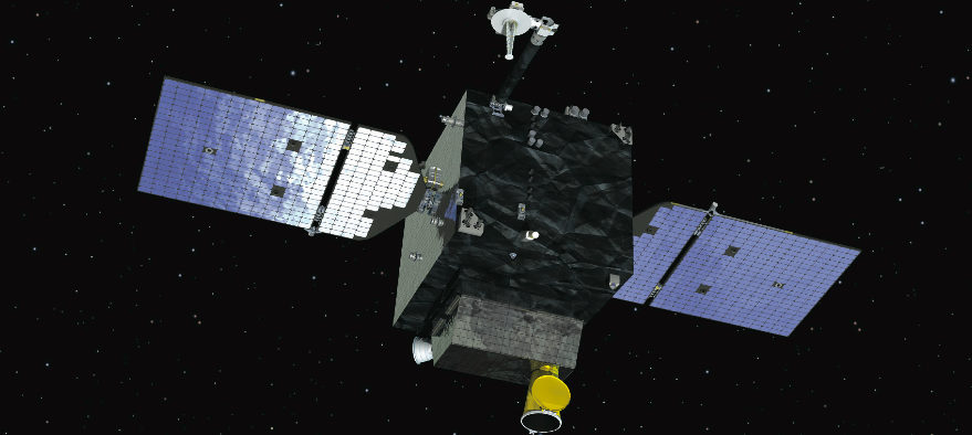 The U.S. Air Force intends to use an Orbital ATK satellite platform for the STPSat-6 mission. Shown above is an artist's concept of the GEOStar-1 platform Orbital ATK offers for national security missions in geostationary orbit. Credit: Orbital ATK