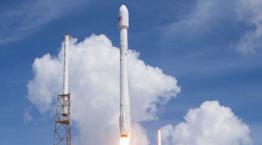 six second generation orbcomm satellites were launched in july 2014 aboard a spacex falcon 9 rocket credit spacex