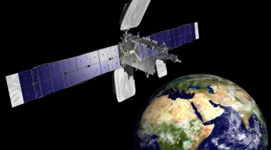 Orbital ATK built Azerspace-1 (above) but lost a competition for the Azerspace-2 satellite with the government of Azerbaijan because Ex-Im could not provide financing after its authorization lapsed July 1. Credit: Orbital ATK