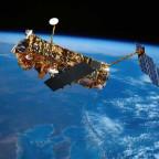 Artist's concept of the European Envisat Earth observation satellite. Credit: ESA