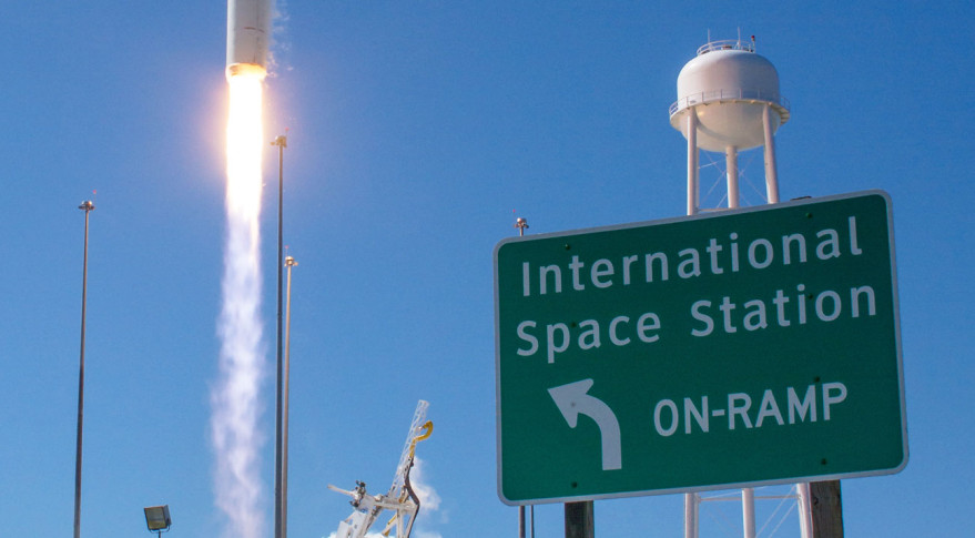 Space Station Schedule May Delay Antares Return to Flight ...