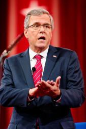 Republican presidential candidate Jeb Bush. Credit: CPAC