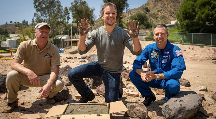 Matt Damon at JPL