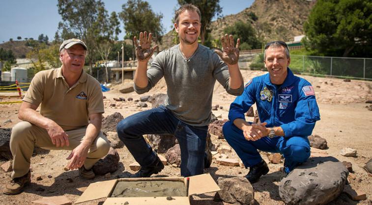 Matt Damon at JPL