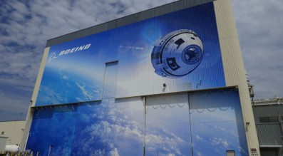 The Orbiter Processing Facility-3 building at the Kennedy Space Center, where Boeing will assemble its CST-100 Starliner capsule. Credit: SpaceNews photo