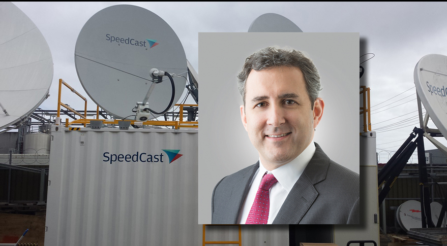 Pierre-Jean Beylier, Chief Executive of SpeedCast Credit: SpeedCast