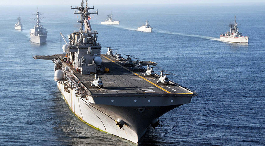 USS Essex at sea. Credit: U.S. Navy
