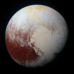 New Horizons color image of Pluto. Credit: NASA/JHUAPL/SwRI
