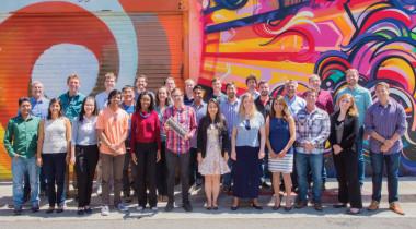 Spire's San Francisco team. Credit: Spire