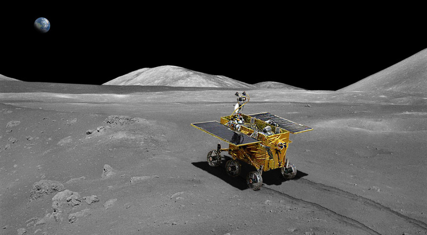 China's Yutu rover was delivered to the lunar surface during the Chang'e-3 mission. Credit: CNSA