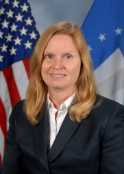 Claire Leon, director of the launch enterprise directorate at Air Force Space and Missile Systems Center. Credit:  USAF