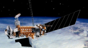DMPS satellite. Credit: U.S. Air Force/Lockheed Martin artist's concept