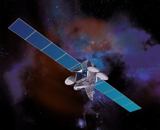 Intelsat 7. Credit: SSL artist's concept