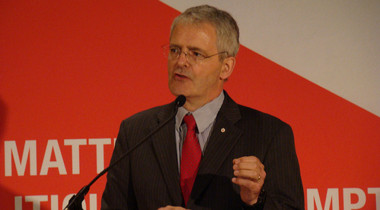 Marc Garneau, the former CSA president and Liberal Party candidate, said his party would produce a long-term space plan and boost funding for space technology development, primarily in communications. Credit: Liberal Party