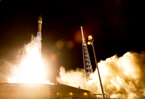 Atlas 5 launches Morelos-3. Credit: Lockheed Martin
