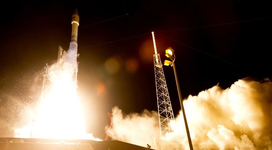 Atlas 5 launches Morelos-3. Credit: Lockheed Martin