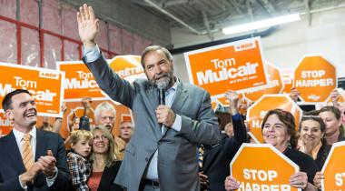 Tom Mulcair, NDP candidate in Canada. Credit: NDP