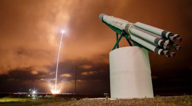 An ILS Proton rocket launches the Turksat-4B satellite. Credit: Roscosmos/Ivan Timoshenko