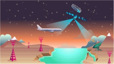 Lufthansa will used Inmarsat's Global Xpress satellites to offer onboard broadband connectivity to passengers and will conduct a trial of the European Aviation Network. Credit: Inmarsat