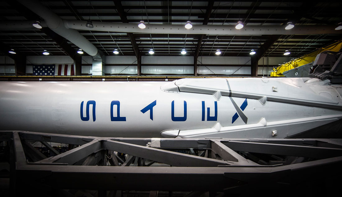 hangar spacex falcon 9 high resolution - photo #46