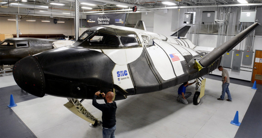 Dream Chaser engineering test