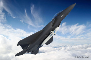 DARPA has scrapped plans to launch small satellites from a modified F-15 fighter jet after two tests of a new rocket fuel ended in explosions this year. Boeing is the prime contractor on the program (DARPA artist's concept).