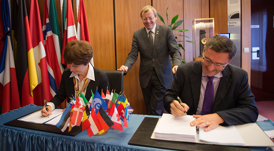 Eurostar Neo contract signing