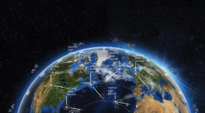 Aireon's business model is straightforward: It will provide a global surveillance capability with the same performance level as the current ground-based ADS-B system. Air navigation authorities will use the information not only to track aircraft mid-ocean, but also to assign more optimal air routes to save fuel or avoid bad weather. Credit: Aireon