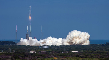 A United Launch Alliance Atlas 5 rocket lifts off from Cape Canaveral Air Force Station in Florida carrying the 11th GPS 2F satellite for the U.S. Air Force. Credit: ULA
