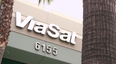 Outside ViaSat Inc.'s Carlsbad, California headquarters. Credit: ViaSat video grab
