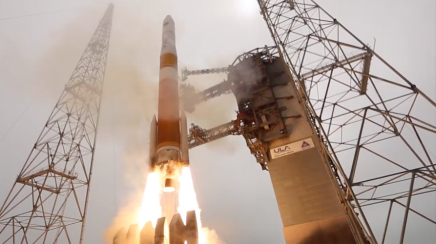 Delta 4 rocket. Credit: ULA video capture