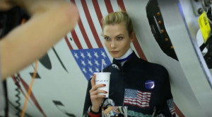 Model Karlie Kloss shot a cover feature for the current issue of WSJ Magazine at SpaceX headquarters in Hawthorne, California. Credit: Klossy/YouTube