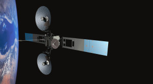 TDRS-M is the third and final spacecraft in a series built by Boeing for NASA. The spacecraft provide S-, Ka- and Ku-band communications services for the International Space Station, Hubble Space Telescope, and other spacecraft in Earth orbit. Credit: NASA