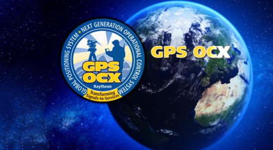 The U.S. Air Force awarded Raytheon a $886 million contract in 2010 to develop the next-generation GPS ground system, or GPS OXC. Credit: Raytheon graphic