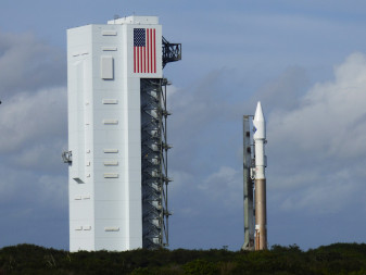 Atlas 5 OA-4 rollout