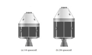 China's design features a blunt cone shape, similar to Boeing's CST-100 and NASA/Lockheed's  Orion capsule.