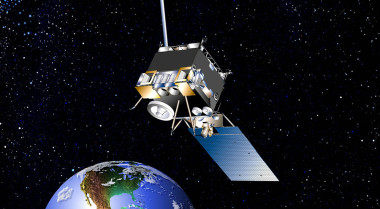 NOAA's GOES-13 satellite suffered an instrument failure Nov. 20 that has halted its flow of infrared sounder data. Credit: NASA artist's concept